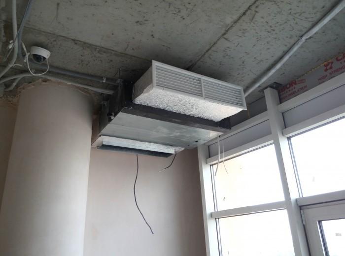 Приточно-вытяжная вентиляция в квартире города Харькова 250м2 - фото нашей работы