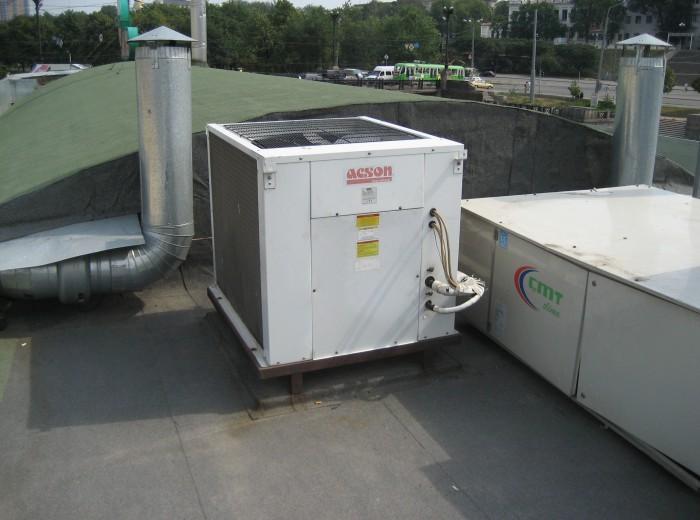 """Монтаж приточно-вытяжных систем вентиляции в сети пиццерий """"Маранелло"""" - фото нашей работы"""
