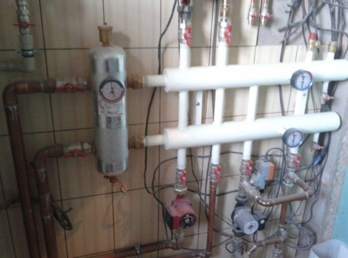 Система приточно-вытяжной вентиляции с рекуператом тепла в квартире 220м2 - фото нашей работы
