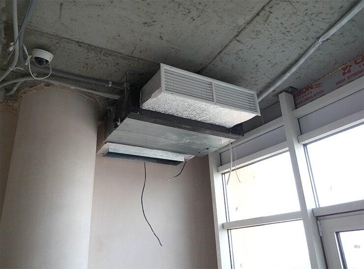 Фото системы вентиляции в квартире 250м2 в городе Харькове