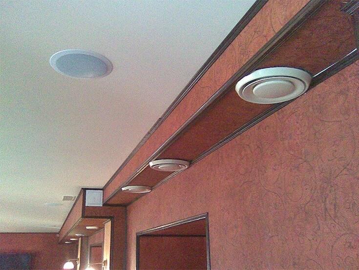 Фото системы вентиляции в пивном Пабе
